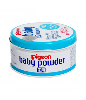 Pigeon Medicated baby powder blue can 150g From Japan