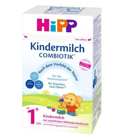 HiPP Stage 4 Organic Combiotic Kindermilch Milk Formula (600g) German Version 1+ Years