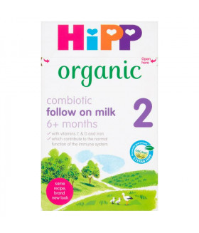 HiPP Stage 2 Combiotic Follow-On Infant Milk Formula With DHA (800g) - UK Version 6+