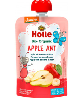 Holle Organic Apple Ant Apple with Banana and Pear (6+ Months)