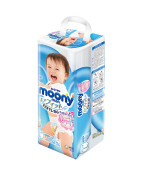 Pull Ups Moony.Large size. For Boys. (9-14kg) ( 20-31lbs) 44 count.