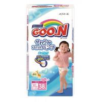 Goo.N Pull Ups XL size. Girls. (12-20kg) (26-44lbs). 38 count.