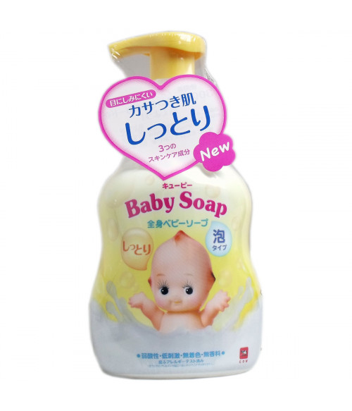 Baby Body Foam with Pump 400ml