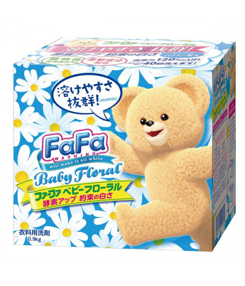 "NISSAN FaFa concentrated baby-safe laundry detergent ""Floral"" 900 gr"