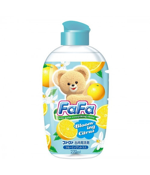 FA-FA  Citrus for washing dish, vegetables and fruits. ( 270 ml )