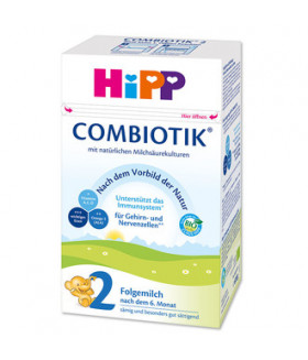 HiPP Stage 2 Organic Combiotic Follow-on  Milk Formula (600g)  German Version 6+