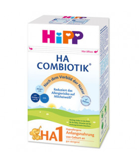 HiPP Hypoallergenic (HA) Stage 1 Combiotic Milk Formula (600g)