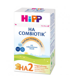 HiPP Hypoallergenic (HA) Stage 2  Combiotic Milk Formula  (500g) German Version 6+