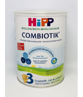 HiPP Dutch Stage 3 Organic Bio Combiotic Growth Milk Formula (900G)