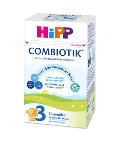HiPP Stage 3 Organic  Baby Milk Formula With DHA (600g) - German Version 10+