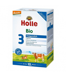 Holle Stage 3 Organic (Bio) Baby Milk Formula  With DHA (600g)