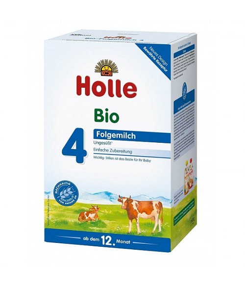 Holle Stage 4 Organic (Bio) Toddler Milk Formula (600g)