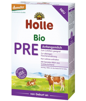 Holle Stage PRE Organic (Bio) Infant Milk Formula (400g) 0+
