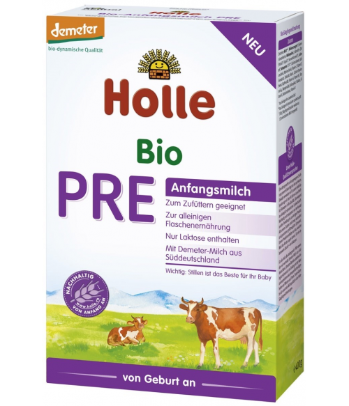 Holle Organic Infant Formula First milk PRE (0+)