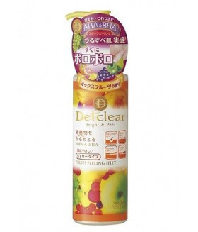 Meishoku Detclear Bright & Peel Fruits Peeling Jelly 180ml Made in Japan