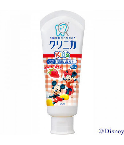 Lion Clinica KID'S toothpaste fresh strawberries 60 G