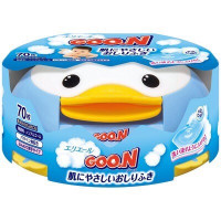 Baby Wet Wipes Goo.N 70 items with a case